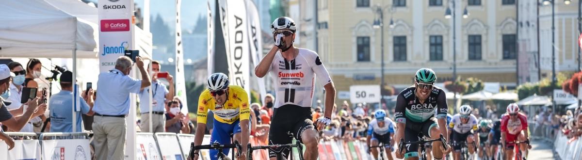 V Banskej Bystrici sa z prvého víťazstva v roku 2020 radoval Nico Denz, Steimle naďalej žltý