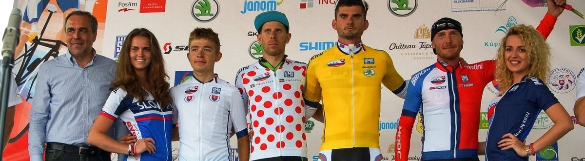 2nd Stage: Maxim Averin - yesterday second, today first and wears the yellow jersey
