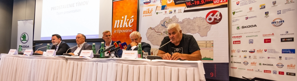 Na 64. ročník Okolo Slovenska mieri šesť tímov najvyššej kategórie