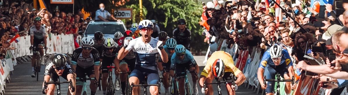 Poslednú etapu vyhral Itamar Einhorn, Peter Sagan finišoval druhý a ovládol celkové poradie pretekov