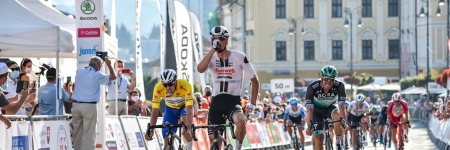 Nico Denz had rejoiced from his first victory in 2020 in Banská Bystrica, Steimle remains in yellow