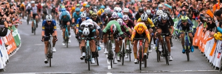 The third stage was decided by photo finish, Halvorsen won, Sagan ended up third and also became the new leader