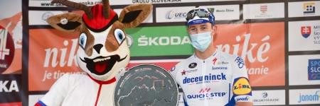 Po časovke je lídrom na našich pretekoch Jannik Steimle z Deceunincku - Quick-Step
