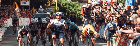Itamar Einhorn won the last stage, Peter Sagan finished second and dominated the overall classification