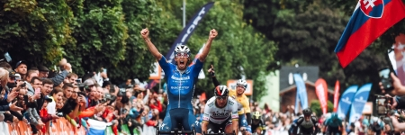 The second stage victory goes to Jannik Steimle, Peter Sagan second again, Álvaro Hodeg kept the first place